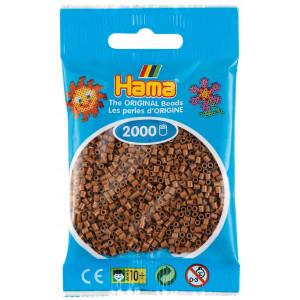 Hama Mini Pärlor 501-76 Nougat - 2000 st.