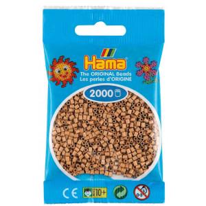Hama Mini Pärlor 501-75 Tan - 2000 st.