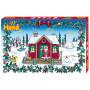 Hama Midi Gigant Presentask 3040 Julkalender/Adventskalender med 24 luckor