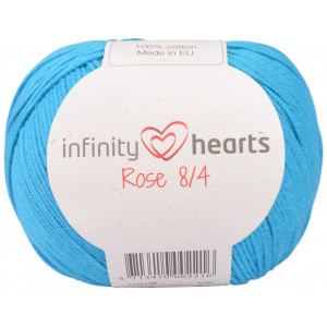 Infinity Hearts Rose 8/4 Garn Unicolor 125 Turkos