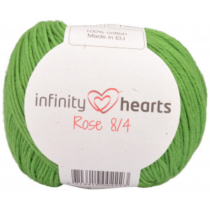 Infinity Hearts Rose 8/4 Garn Unicolor 156 Grön