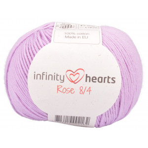 Infinity Hearts Rose 8/4 Garn Unicolor 52 Syren