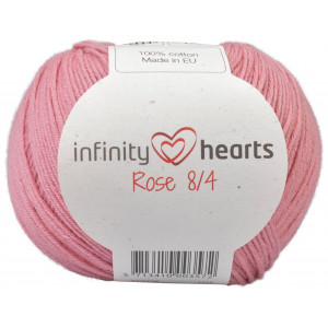 Infinity Hearts Rose 8/4 Garn Unicolor 29 Gammelrosa