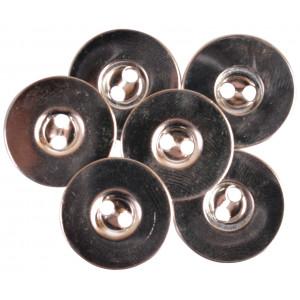Magnetknappar till att sy fast Silver 18mm - 3 st.