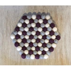 Grytunderlägg av Rito Krea - Grytunderlägg mönster 22 cm