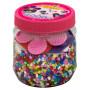 Hama Midi Pärlask 2051 med 4 000 Pärlor & 3 pärlplattor