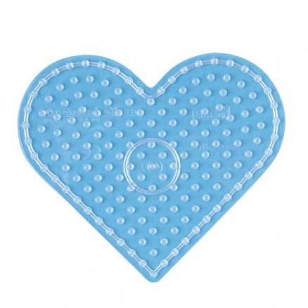 Hama Maxi Pärlplatta 8206 Hjärta Transparent - 1 st - Rito.se f354ec25f753a