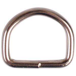 D-Ring Nickel 16mm - 1 st