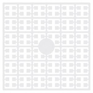 Pixelhobby Midi Pärlor 100 Vit 2x2mm - 144 pixels