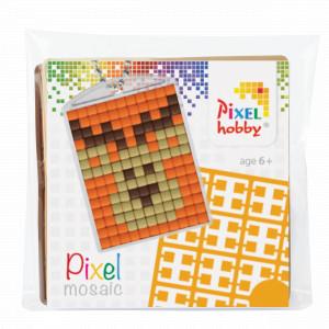 Pixelhobby Presentask Nyckelringsset Älg 3x4cm