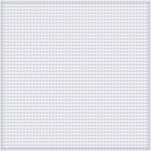 Pixelhobby XL Pärlplatta Fyrkantig Vit 12x12cm - 1 st