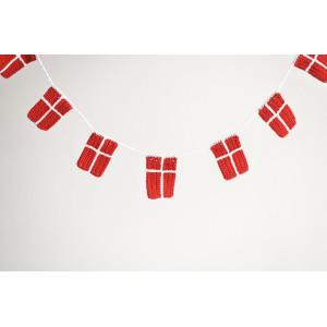 Flagranke af KreaLoui - Flag Hækleopskrift