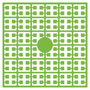 Pixelhobby Midi Pärlor 343 Ljus Papegojgrön 2x2mm - 144 pixels