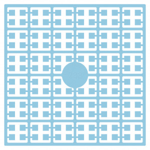 Pixelhobby Midi Pärlor 288 Extra ljus Blåklintsblå 2x2mm - 144 pixels