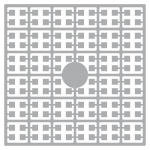 Pixelhobby Midi Pärlor 277 Ljus Pärlgrå 2x2mm - 144 pixels