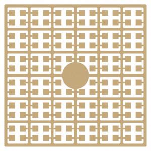 Pixelhobby Midi Pärlor 263 Extra ljus Hudfärg 2x2mm - 144 pixels