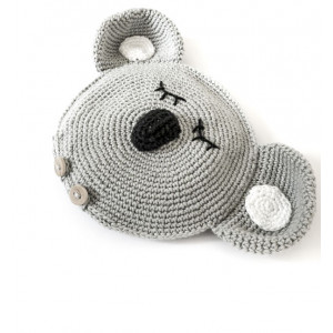 Koala Värmekudde av Wintherdesign - Värmekudde Virkmönster - DANSKT mönster