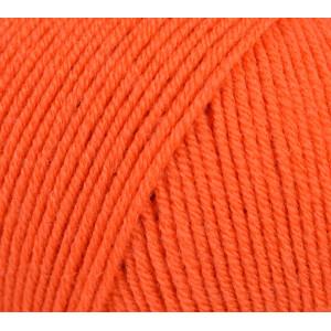 Infinity Hearts Baby Merino Garn Unicolor 19 Mörk Orange