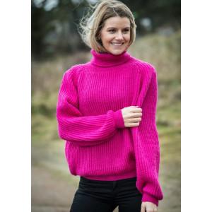 Mayflower Cerise Sweater - Sweater Stickmönster stl. S - XXL