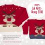 Barn Jultröja KAL 2018 by Drops Design Big Merino str. 2 - 11/12 år