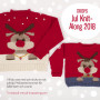 Barn Jultröja KAL 2018 by Design Alaska og Alpaca Bouclé str. 2 - 11/12 år
