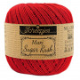 Scheepjes Maxi Sugar Rush Garn Unicolor 722 Red