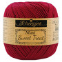 Scheepjes Maxi Sweet Treat Garn Unicolor 517 Ruby