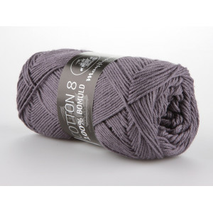 Mayflower Cotton 8/4 Garn Unicolor 1441 Grålila