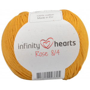 Infinity Hearts Rose 8/4 Garn Unicolor 190 Senap
