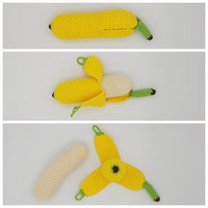 Karlas Banan af Rito Krea - Frukt virkmönster 17cm