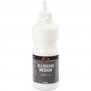 Allround medium limlack, 500 ml