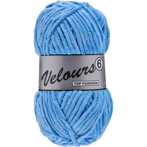 Lammy Velours 6 Garn 040 Ljusblå
