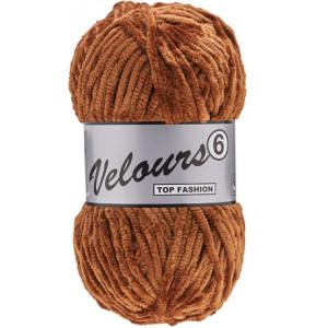 Lammy Velours 6 Garn 110 Brun