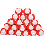 Infinity Hearts Rose 8/4 Garnpaket Unicolor 19 Röd - 20 st.