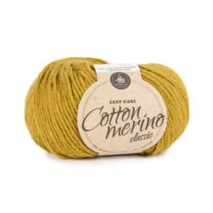 Mayflower Easy Care Classic Cotton Merino Garn Solid 111 Oliv