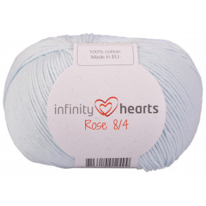 Infinity Hearts Rose 8/4 Garn Unicolor 79 Baby Blå