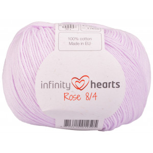 Infinity Hearts Rose 8/4 Garn Unicolor 50 Puder