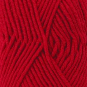 Drops Big Merino Garn Unicolor 18 Röd