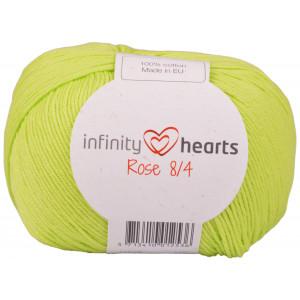 Infinity Hearts Rose 8/4 Garn Unicolor 145 Lime Grön