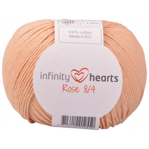 Infinity Hearts Rose 8/4 Garn Unicolor 242 Ljus Terracotta