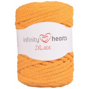 Infinity Hearts 2XLace Garn 28 Senapsgul