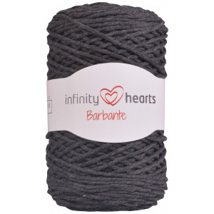 Infinity Hearts Barbante Garn 07 Koksgrå
