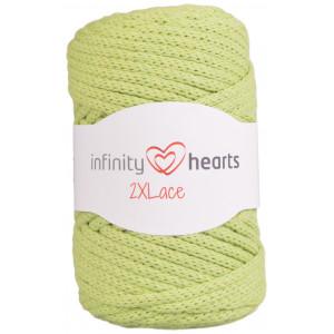 Infinity Hearts 2XLace Garn 11 Pistage-grön