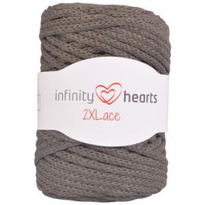 Infinity Hearts 2XLace Garn 13 Armyégrön