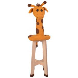 Giraff-pall från Rito Krea - Pall-klädsel Virkmönster