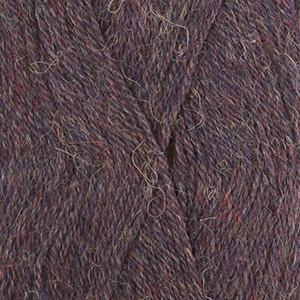 Drops Alpaca Garn Mix 6736 Blå/Lila