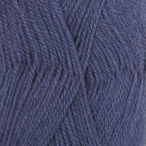 Drops Alpaca Garn Unicolor 6790 Kungsblå