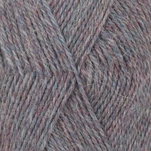 Drops Alpaca Garn Mix 8120 Jeansblå