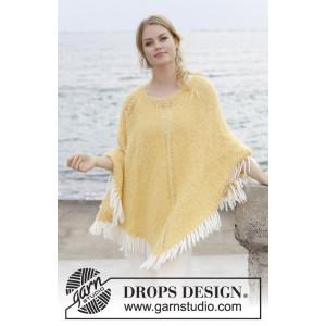 Wild Berriesby DROPS Design - Bluse Strikkeopskrift str. S - XXXL