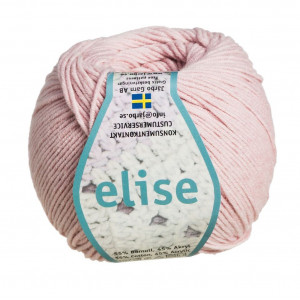 Järbo Elise Garn Unicolor 69211 Puder Rosa